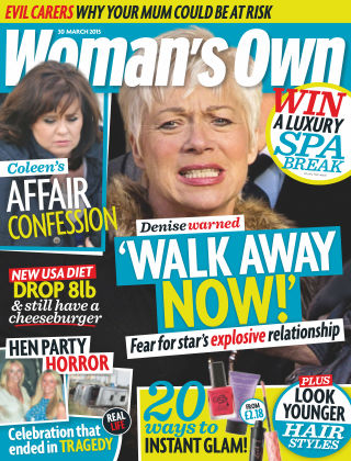 Woman's Own 30th March 2015