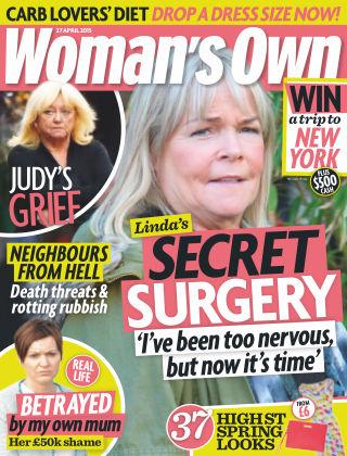 Woman's Own 27th April 2015