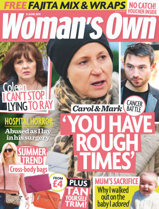 Woman's Own 08th June 2015