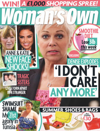 Woman's Own 15th June 2015