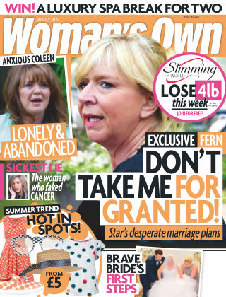 Woman's Own 20th July 2015