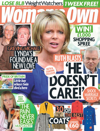 Woman's Own 28th September 2015