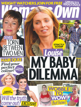 Woman's Own 17th October 2016