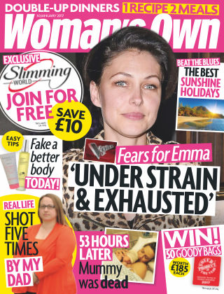 Woman's Own 30th January 2017