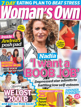 Woman's Own 20th August 2018