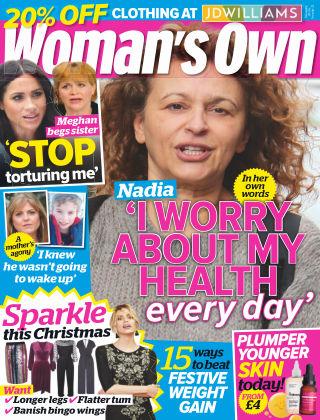 Woman's Own 26th November 2018