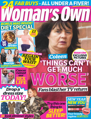 Woman's Own 30th December 2018