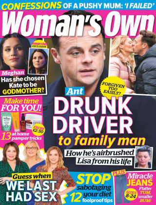 Woman's Own 25th March 2019