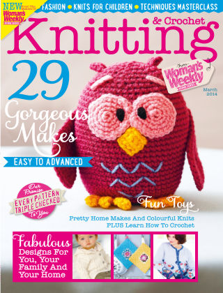 Woman's Weekly Knitting & Crochet March 2014