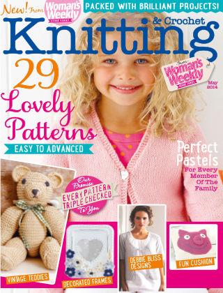 Woman's Weekly Knitting & Crochet May 2014