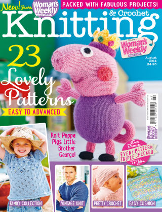 Woman's Weekly Knitting & Crochet August 2014