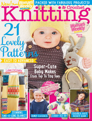 Woman's Weekly Knitting & Crochet March 2015