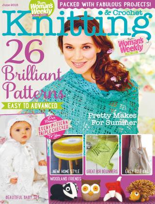 Woman's Weekly Knitting & Crochet June 2015