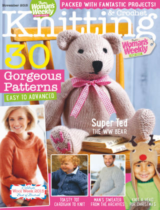 Woman's Weekly Knitting & Crochet November 2015