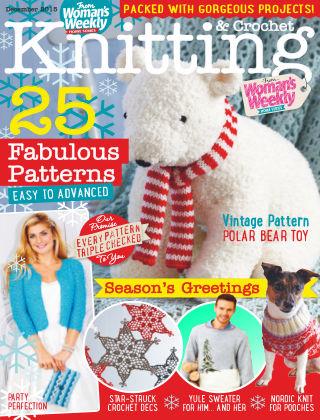 Woman's Weekly Knitting & Crochet December 2015