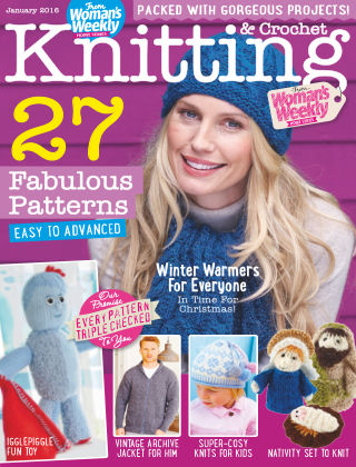 Woman's Weekly Knitting & Crochet January 2016