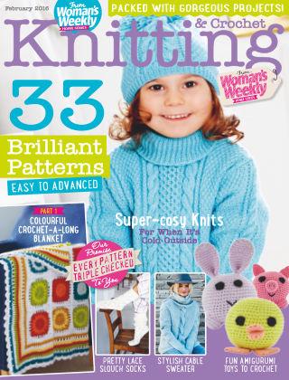 Woman's Weekly Knitting & Crochet February 2016