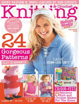 Woman's Weekly Knitting & Crochet September 2016