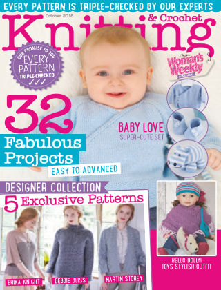 Woman's Weekly Knitting & Crochet October 2016