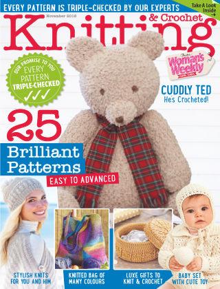 Woman's Weekly Knitting & Crochet November 2016