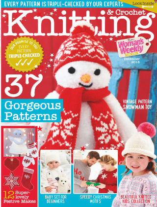 Woman's Weekly Knitting & Crochet December 2016