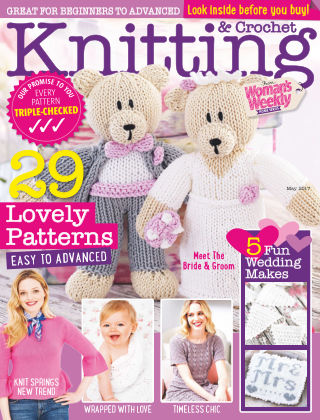 Woman's Weekly Knitting & Crochet May 2017