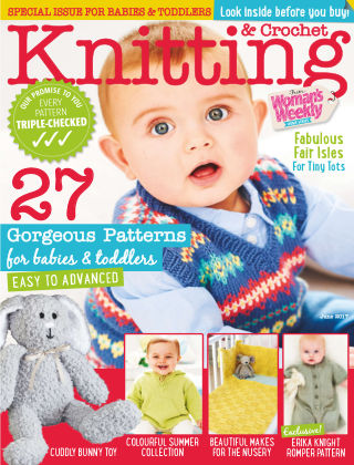 Woman's Weekly Knitting & Crochet June 2017