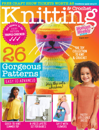 Woman's Weekly Knitting & Crochet August 2017