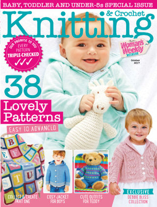 Woman's Weekly Knitting & Crochet 1st October 2017