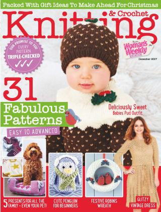Woman's Weekly Knitting & Crochet 1st December 2017