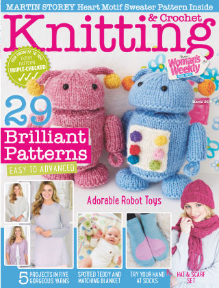 Woman's Weekly Knitting & Crochet March 2018
