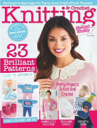Woman's Weekly Knitting & Crochet July 2018