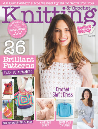 Woman's Weekly Knitting & Crochet August 2018