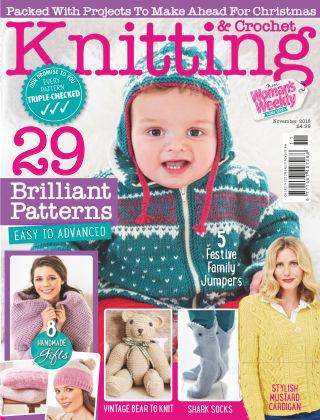 Woman's Weekly Knitting & Crochet November 2018