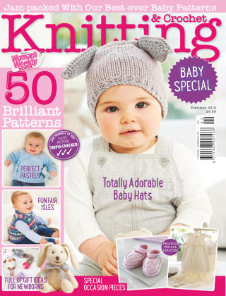 Woman's Weekly Knitting & Crochet Feb 2019