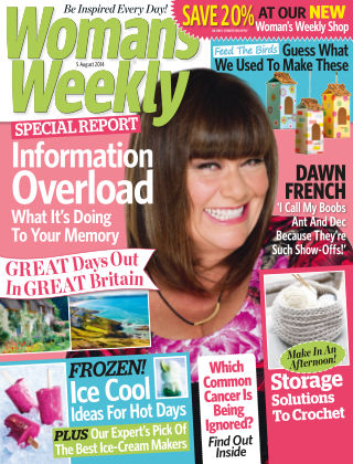 Woman's Weekly - UK 5th August 2014