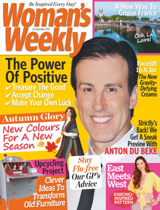 Woman's Weekly - UK 29th September 2015