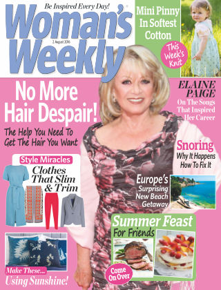 Woman's Weekly - UK 2nd August 2016