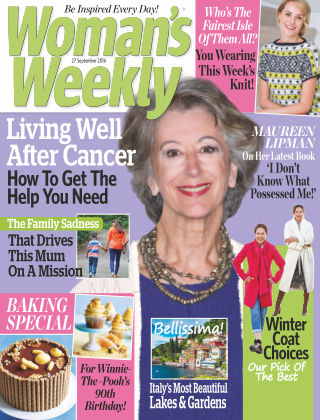 Woman's Weekly - UK 27th September 2016