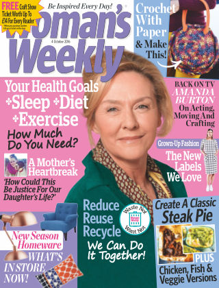 Woman's Weekly - UK 4th October 2016
