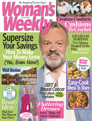 Woman's Weekly - UK 18th October 2016