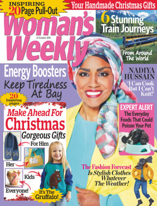 Woman's Weekly - UK 25th October 2016