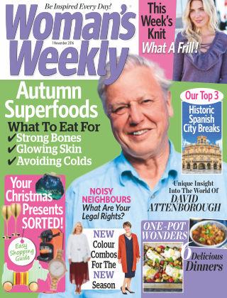 Woman's Weekly - UK 1st November 2016