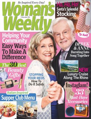 Woman's Weekly - UK 15th November 2016