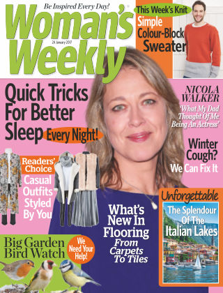 Woman's Weekly - UK 24th January 2017