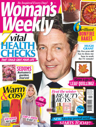 Woman's Weekly - UK 30th October 2018