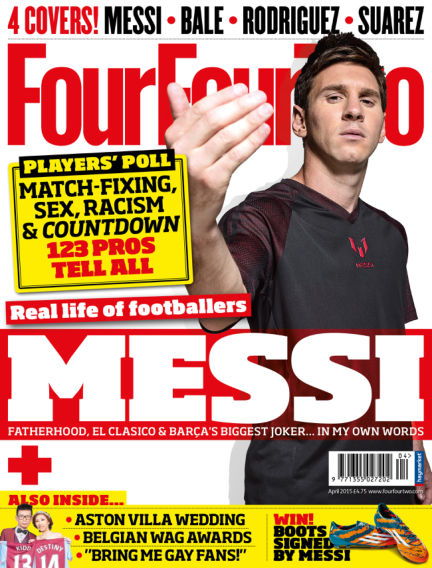 FourFourTwo April 01, 2015 00:00