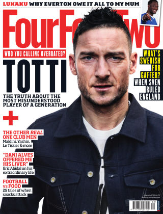 FourFourTwo Februray 2016