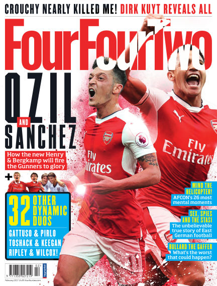 FourFourTwo January 04, 2017 00:00