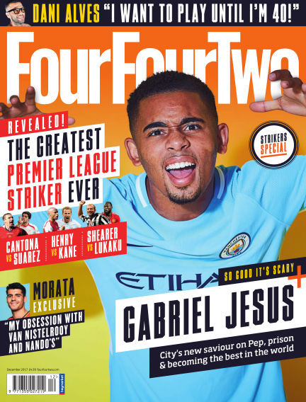 FourFourTwo November 01, 2017 00:00